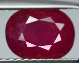 2.95Cts Pigeon Blood red Ruby Composite Oval Cut Mozambique2.14