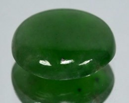 2.15Cts Natural Green Jade Cabochon Burmese Gem