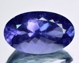 7.97Ct Mind Blowing Natural Iolite Oval Tanzania