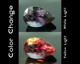 Rarest Garnet 1.76 ct Dramatic Full Color Change SKU-3