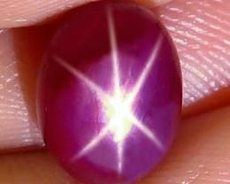 4.73 Carat Fiery Star Ruby - Gorgeous