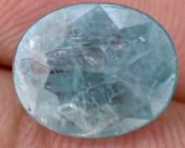 2.90 Crt Rare Grandidierite Faceted Gemstone (R46)