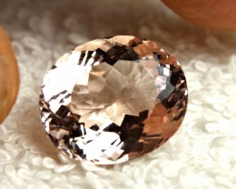 10.16 Carat VVS1 Brazilian Morganite - Gorgeous