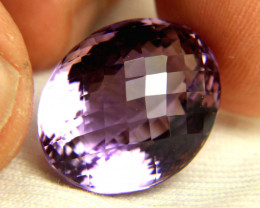 30.21 Carat Cushion Cut Bolivian VVS Ametrine - Gorgeous