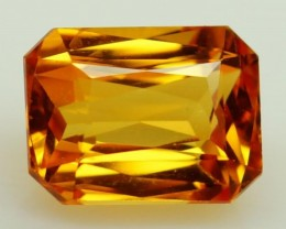 3.13 ct.  Natural Orange Sapphire - Sri Lanka - IGE Сertified
