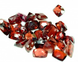 25.90 cts Rhodolite Garnet Gemstones Parcel
