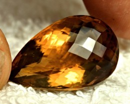 33.67 Carat Vibrant Natural African VVS Citrine - Superb