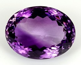 18.85Crt Natural Amethyst  Best Grade Gemstones JI111
