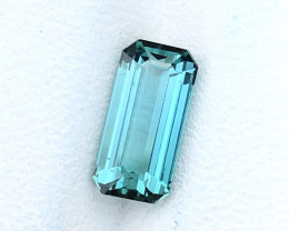 1.55 Ct Natural Blue VVS Top Color Tourmaline Gemstone