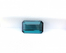 1.40 Ct Natural Blue Transparent Tourmaline Gemstone