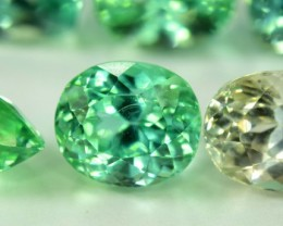 No Reserve - 73 Carats Mix Cut Large Parcel of Lush Green Spodumene Gemston