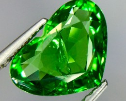 2.06 Crt Natural Tsavorite Garnet Sparkling luster Faceted Gemstone(Ts 03)