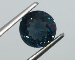 2.65 Carat VS Topaz London Blue - Brazilian Beauty !