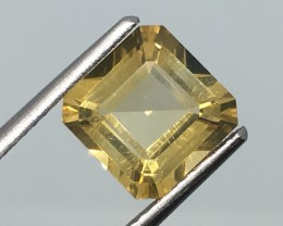 2.40 Carat VVS Citrine - Golden Flash - Brazilian Beauty !