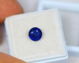 2.20Ct Blue Sapphire Round Cut Lot A92