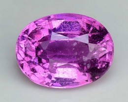 Untreated Top Color Sparkling Intense Pink Sapphire ~ SF14