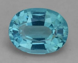 1.73 Cts Neon Blue Apatite ~ Awesome Color and Luster ~ Untreated AP10