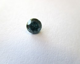 Natural Blue Diamond - 0.39 ct