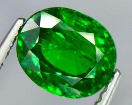 1.50 Crt Natural Tsavorite Garnet Sparkling luster Faceted Gemstone.(Ts 05)