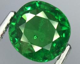 1.12 Crt Natural Tsavorite Garnet Sparkiling luster Faceted Gemstone.(Ts 07