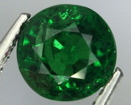 1.18 Crt Natural Tsavorite Garnet Sparkling luster Faceted Gemstone.(Ts 08)