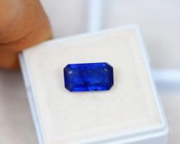 4.29Ct Blue Sapphire Composite Octagon Cut Lot A109