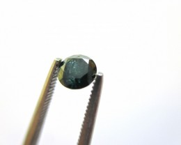 Natural Blue Diamond - 0.27 ct