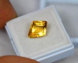 3.97Ct Yellow Citrine Fancy Cut Lot A114