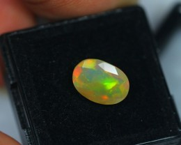 1.90ct Natural Ethiopian Welo Faceted Opal Lot A854