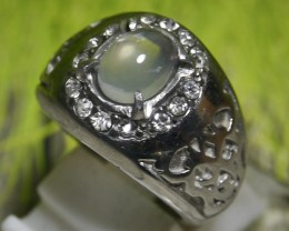 41.40 CT UNTREATED Indonesian Crystal Opal Ring Jewelry