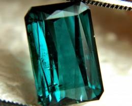 6.64 Ct. Indicolite Blue African Tourmaline - Gorgeous