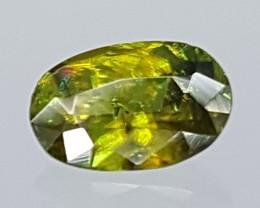 0.75Crt Chrome Sphene  Best Grade Gemstones JI112