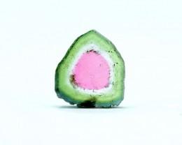 2.80 cts Watermelon Tourmaline Slice
