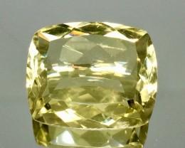 11.27 Crt Natural Lemon Quartz Faceted Gemstone.( AG 71)