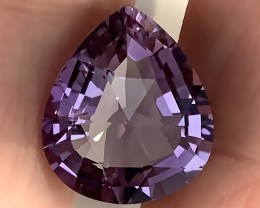 Sparkling Pink Mauve Ametrine Amethyst - Special cut gem VVS