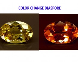 4CT DIASPORE COLOR CHANGE ZULTANITE IGCDS01