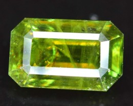 1.70 cts Natural Full Fire Chrome Sphene Titanite Gemstone