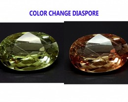 2.2CT DIASPORE COLOR CHANGE ZULTANITE IGCDS03