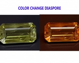 3.7CT DIASPORE COLOR CHANGE ZULTANITE IGCDS06 VS
