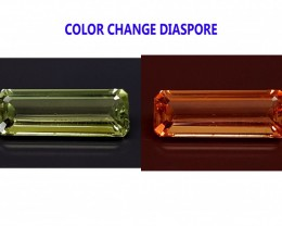 3.7CT DIASPORE COLOR CHANGE ZULTANITE IGCDS08 VVS