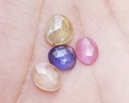 MULTI SAPPHIRE PARCEL GENUINE  Natural Gemstones treated VA806