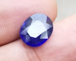 BLUE SAPPHIRE GENUINE Natural Gemstone treated VA807
