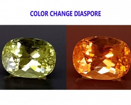 2.85CT DIASPORE COLOR CHANGE ZULTANITE IGCDS13 VVS