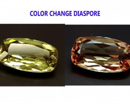 2.55CT DIASPORE COLOR CHANGE ZULTANITE IGCDS16 VVS