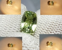 EXTREMELY RARE UNHEATED CERTIFIED 1.31 CTS  NATURAL BEAUTIFUL ALEXENDRITE