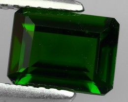 1.55 CTS NATURAL ULTRA RARE CHROME TOP GREEN DIOPSIDE RUSSIA~