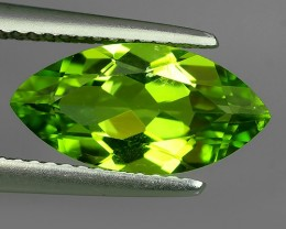 3.00  Cts.Magnificient Top Sparkling Intense Green Peridot