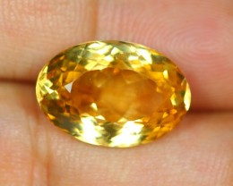 9.80Ct Yellow Citrine Oval Cut Lot B31