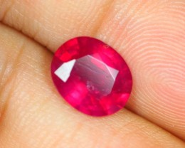 3.64Ct Ruby Oval Cut Lot A522