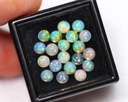 Lot 05 ~ 3.26Ct Natural Ethiopian Color Welo Opal Lot